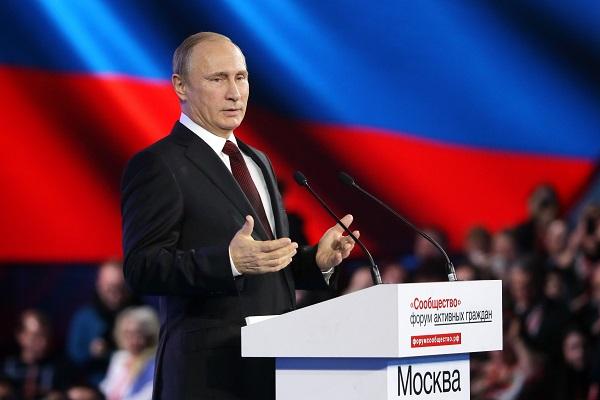 Руководство фонда на встрече с Владимиром Путиным
